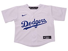 Los Angeles Dodgers Toddler Official Blank Jersey