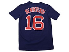 Boston Red Sox Andrew Benintendi Youth Name and Number Player T-Shirt