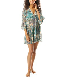 Enchant Printed Swim Dress Cover-Up
