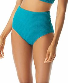 Optima High-Waist Bikini Bottoms