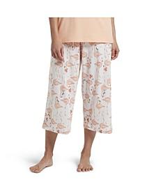 Flamingo Capri Women's Pajama Pant