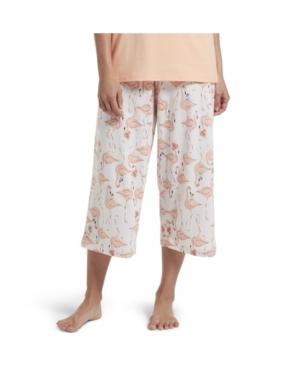 Hue Flamingo Capri Women's Pajama Pant