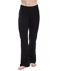 Women's High Waist Comfortable Bootleg Yoga Pants