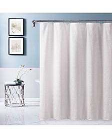 "Sunrise Puckered Shower Curtain, 70"" x 72''"