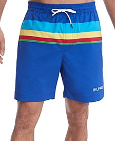 Men's Colorblocked Oscar Swim Trunks, Created for Macy's