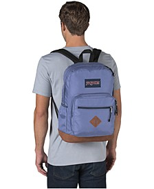 City View Bleached Denim Backpack