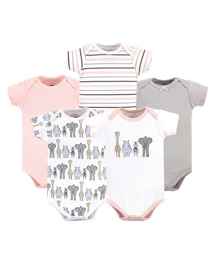 Hudson Baby - - Baby Boys and Girls Cotton Bodysuit Set