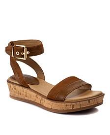 Leesa Flatform Sandals