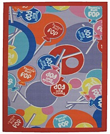 "Tootsie Roll Pop 19"" x 29"" Area Rug"