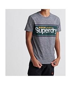 Men's Core Logo Stripe T-shirt