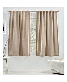 Palisades Room Darkening Back Tab Rod Pocket Curtain Panel