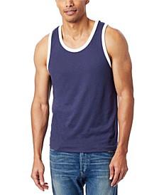 Men's Keeper Vintage-Like Jersey Ringer Tank Top