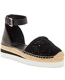 Vince Camuto Brafina Two-Piece Espadrille Flats