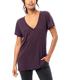 Alternative Apparel Slinky Jersey Women's V-Neck T-Shirt