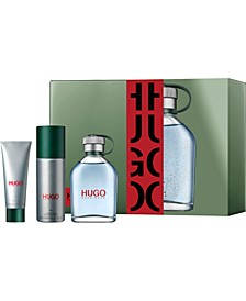 Men's 3-Pc. HUGO Man Gift Set