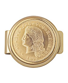 Tribute To 4 Dollar Stella Gold Coin Money Clip