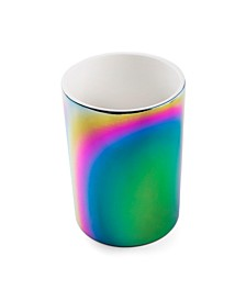 Ceramic Rainbow Utensil Crock