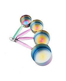 Stainless Steel Rainbow Measuring Cups