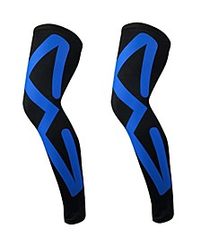 Men's Sports Recovery Compression Leg Sleeves Large