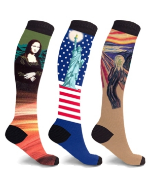 Men's and Women's Compression Knee High Socks