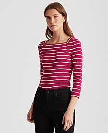 Petite Striped Top
