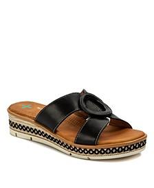 Bliss Posture Plus+ Slip-on Wedge Sandals