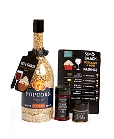 Sip and Snack Gourmet Popcorn Gift Set