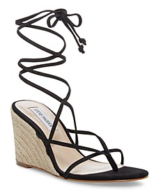 Women's Lakely Tie-Up Wedge Sandals