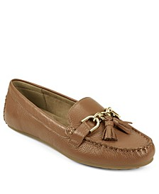 Soft Drive Loafer with Tassels