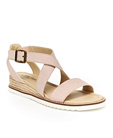 Caymen Comfort Flat Sandal