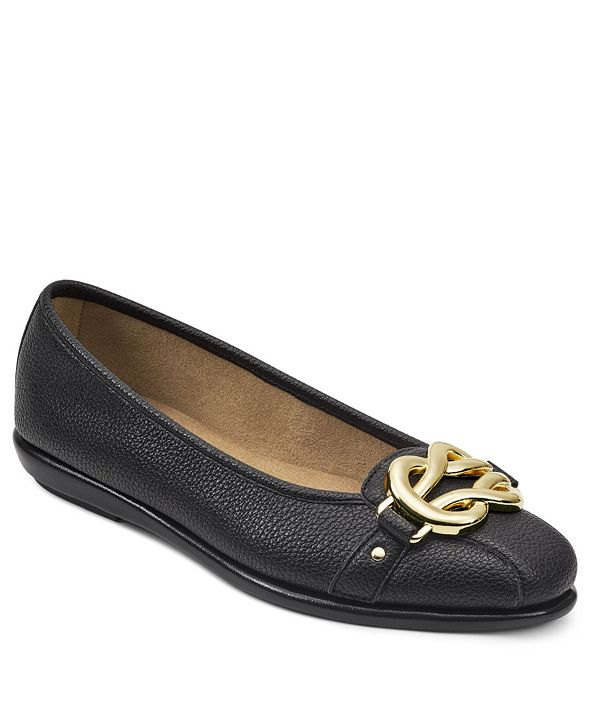Aerosoles Big Bet Ballet Flat with Ornament