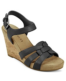 Pennsville Strappy Wedge