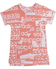 Baby Girls Logo-Print T-Shirt Dress