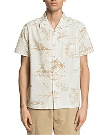 Quiksilver Men's Map Dreams Short Sleeve Shirt