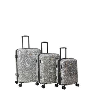 Isaac Mizrahi Gabby 3 Piece Hardside Spinner Luggage Set