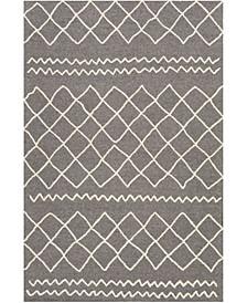 Sinop SNP-2301 Charcoal 6' x 9' Area Rug