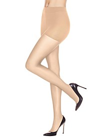 Leg Boost Energizing Control Top Sheer Pantyhose