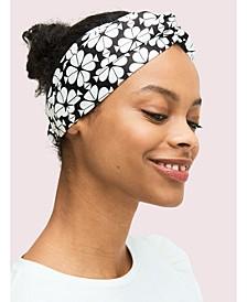 Bicolor Spade Flower Turban Headband