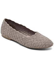 Women's Cleo Honeycomb Casual Ballet Flats from Finish Line