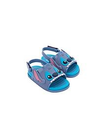 Toddler Girls Beach Slide Stitch Sandal
