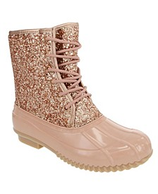 Women's Skipper Glitter Duck Boots
