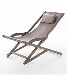 Nikki Outdoor Sling Chair, Set of 2