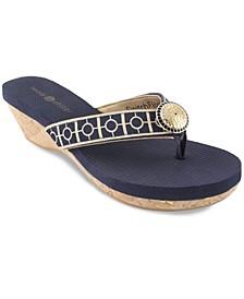 Yoga Lynne Platform Wedge Sandal