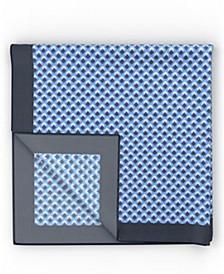 BOSS Men's Turquoise Pocket Square