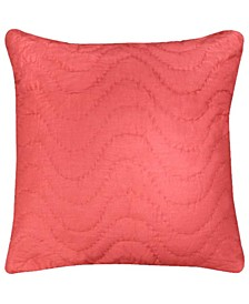 Solid Quilted Euro Sham