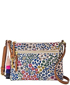 Fiona Printed Small Fabric Crossbody