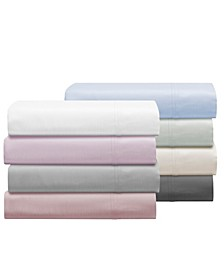 Aspen 1000 Thread Count Sateen 6-Pc. Solid Sheet Sets