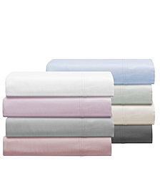 Aspen 1000 Thread Count Sateen 6-Pc. Solid Sheet Sets