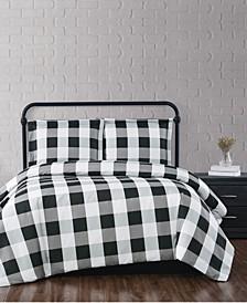 Everyday Buffalo Plaid Twin XL Comforter Set