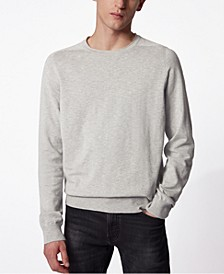BOSS Men's Kabiro Silver Sweater